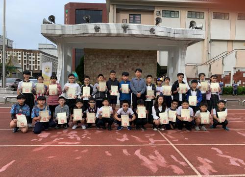 109學年度第一學期第一次評量成績優異表揚